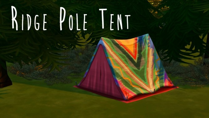 Ridge Pole Tent at Teanmoon image 120 670x377 Sims 4 Updates