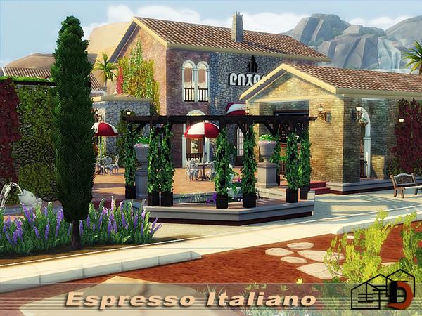 Espresso Italiano by Danuta720 at TSR image 1211 Sims 4 Updates