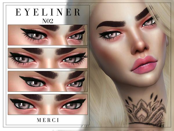 Sims 4 Eyeliner N02 by Merci at TSR
