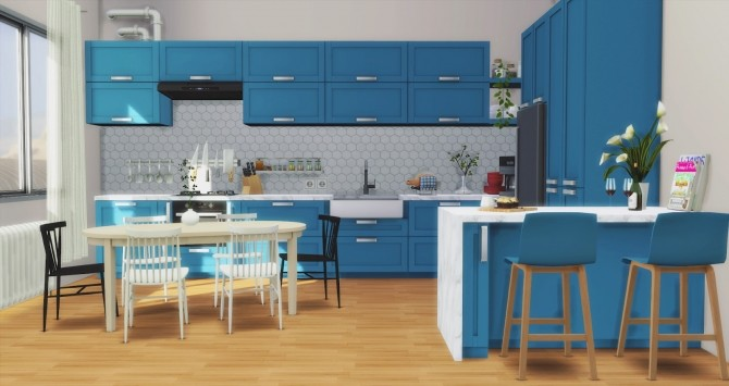 Los Feliz Kitchen at Pyszny Design image 1261 670x355 Sims 4 Updates
