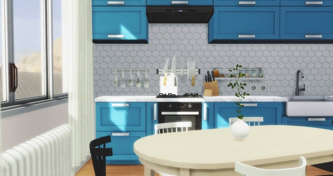 Los Feliz Kitchen at Pyszny Design image 1271 670x355 Sims 4 Updates
