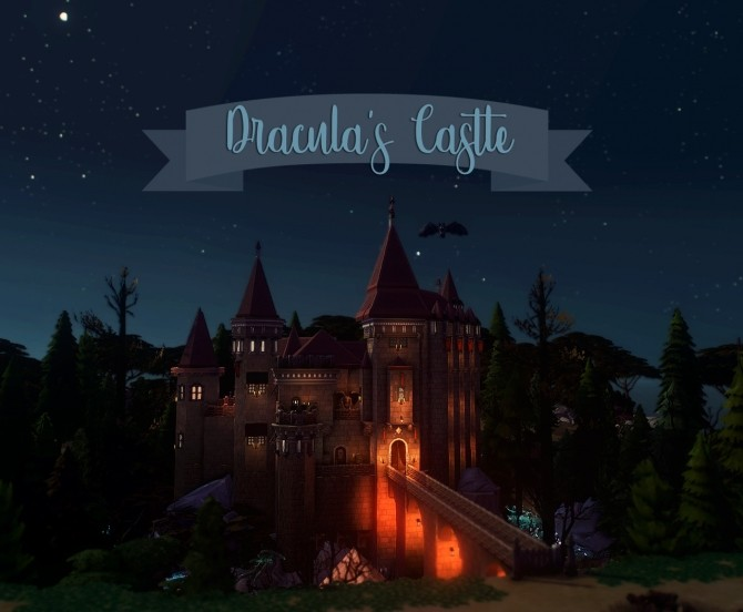 Dracula's Corvin Castle at Miss Ruby Bird image 1273 670x552 Sims 4 Updates