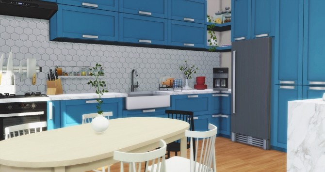 Los Feliz Kitchen at Pyszny Design image 1281 670x355 Sims 4 Updates