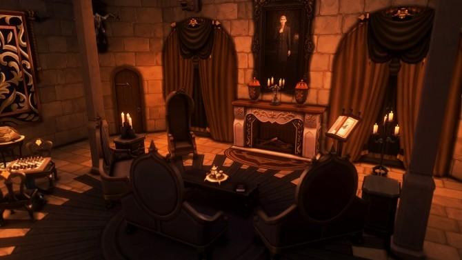 Dracula's Corvin Castle at Miss Ruby Bird image 1283 670x377 Sims 4 Updates