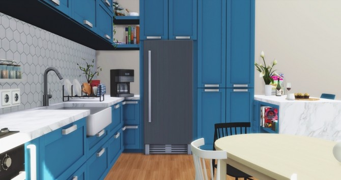 Los Feliz Kitchen at Pyszny Design image 1291 670x355 Sims 4 Updates