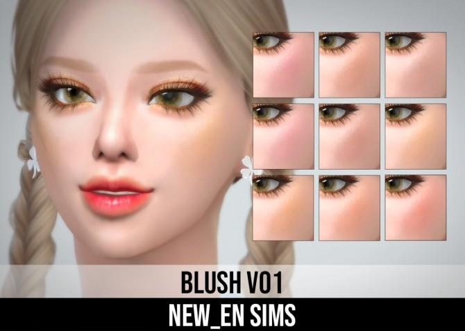 Sims 4 Blush V01 at NEWEN