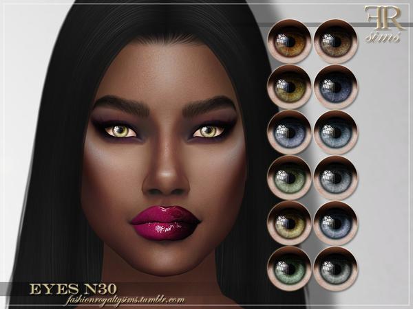 FRS Eyes N30 by FashionRoyaltySims at TSR image 13101 Sims 4 Updates