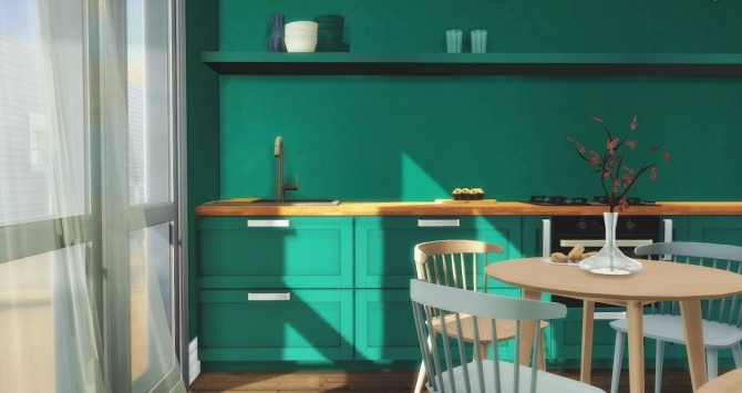 Los Feliz Kitchen at Pyszny Design image 1311 670x355 Sims 4 Updates