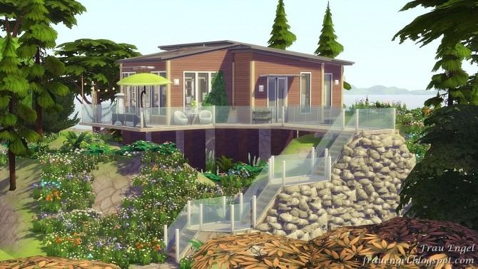 Sun Dew house no CC at Frau Engel image 13111 670x377 Sims 4 Updates