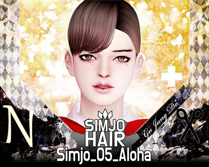 Hair 05 Aloha at Kim Simjo image 1324 670x536 Sims 4 Updates