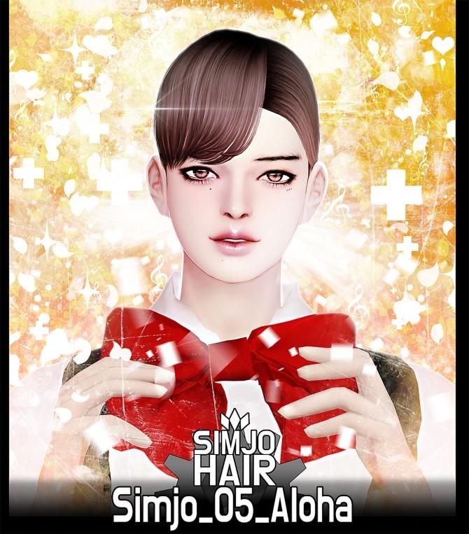 Hair 05 Aloha at Kim Simjo image 1334 670x763 Sims 4 Updates