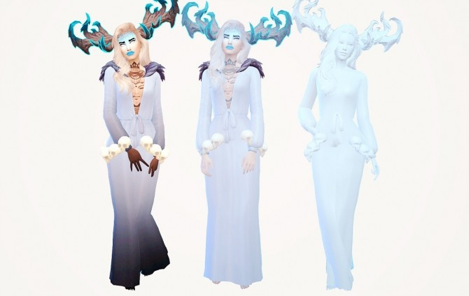 Sims 4 APPARITION coloured overlays at Valhallan