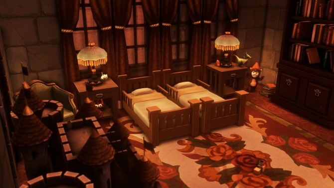 Dracula's Corvin Castle at Miss Ruby Bird image 1343 670x377 Sims 4 Updates