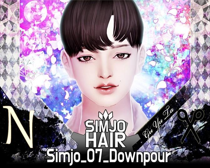 Hair 07 Downpour at Kim Simjo image 1354 670x536 Sims 4 Updates
