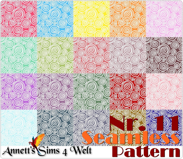 Seamless Patterns 7   11 at Annett's Sims 4 Welt image 1361 Sims 4 Updates