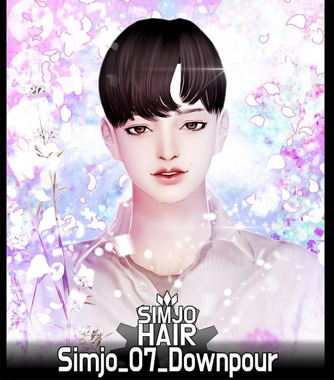 Hair 07 Downpour at Kim Simjo image 1364 670x763 Sims 4 Updates