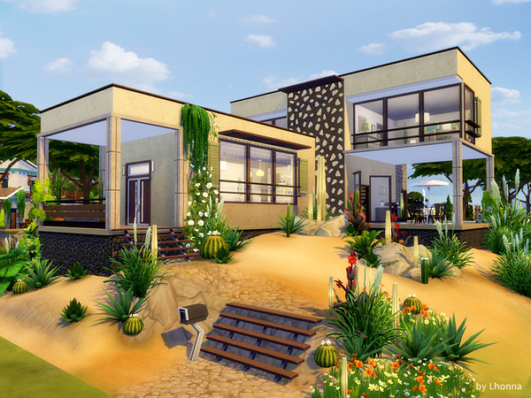 Sand house by Lhonna at TSR image 1370 Sims 4 Updates
