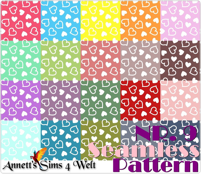 Seamless Patterns 7   11 at Annett's Sims 4 Welt image 1371 Sims 4 Updates