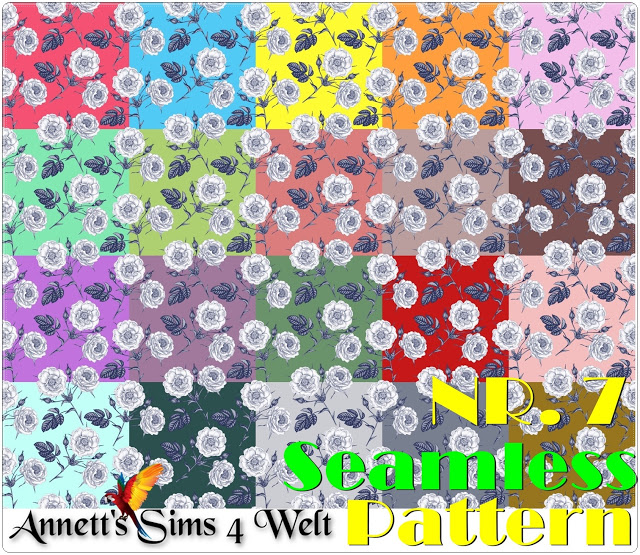 Seamless Patterns 7   11 at Annett's Sims 4 Welt image 1391 Sims 4 Updates