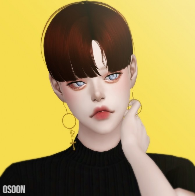 Sims 4 Male Hair 03 at Osoon