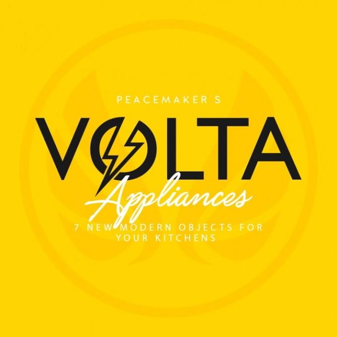Sims 4 Volta Appliances Modern & Unique Designs for Kitchens at Simsational Designs