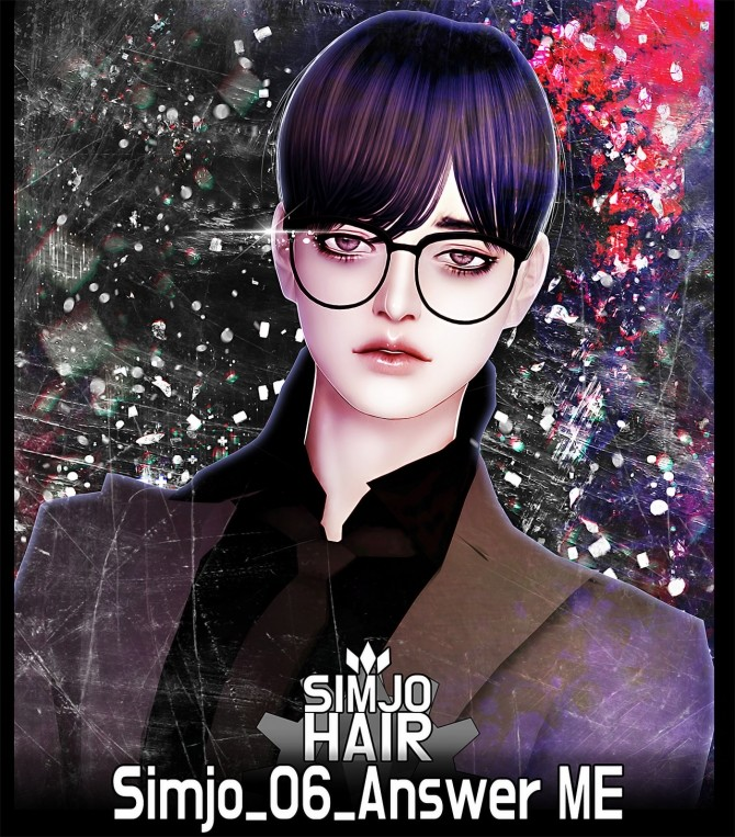 Sims 4 Hair 06 Answer ME at Kim Simjo