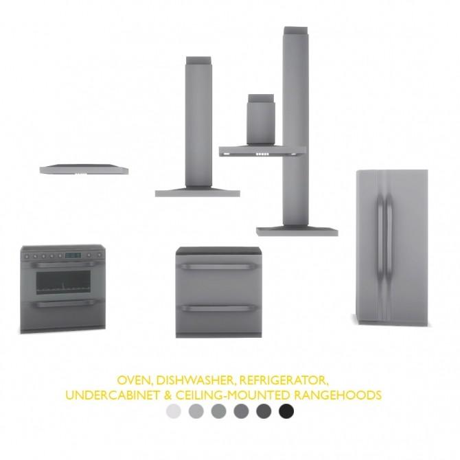 Volta Appliances Modern & Unique Designs for Kitchens at Simsational Designs image 143 670x670 Sims 4 Updates