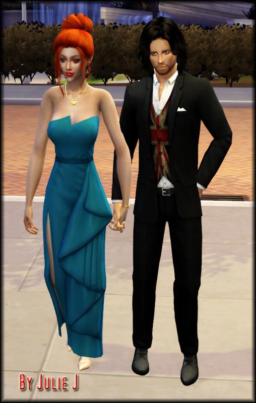 Sims 4 EP06 Dress Split Recolours at Julietoon – Julie J