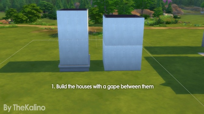 Part 3: Small Tutorial for different highs of basements (connected) at Kalino image 1477 670x377 Sims 4 Updates
