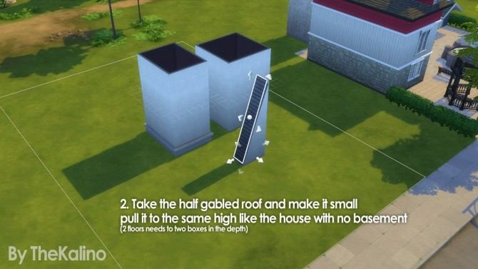 Part 3: Small Tutorial for different highs of basements (connected) at Kalino image 1486 670x377 Sims 4 Updates