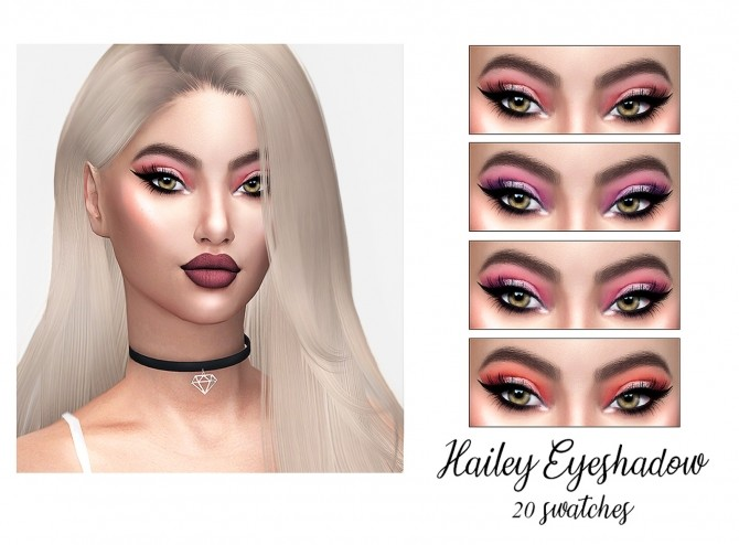 Sims 4 Hailey Eyeshadow at FROST SIMS 4