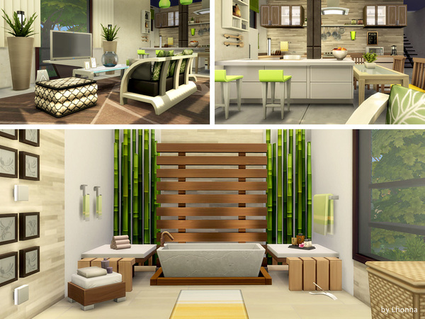 Sand house by Lhonna at TSR image 1557 Sims 4 Updates