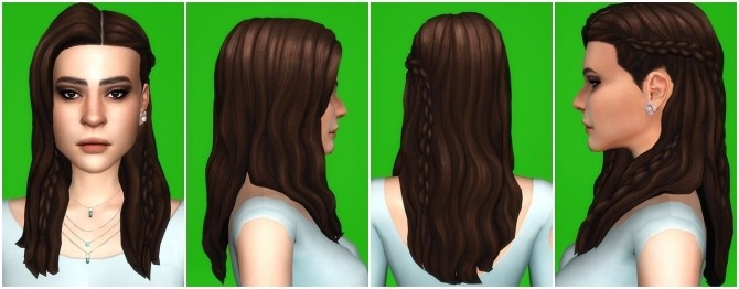 EP06 BraidsRings Mesh edit at PW's Creations image 1566 670x262 Sims 4 Updates