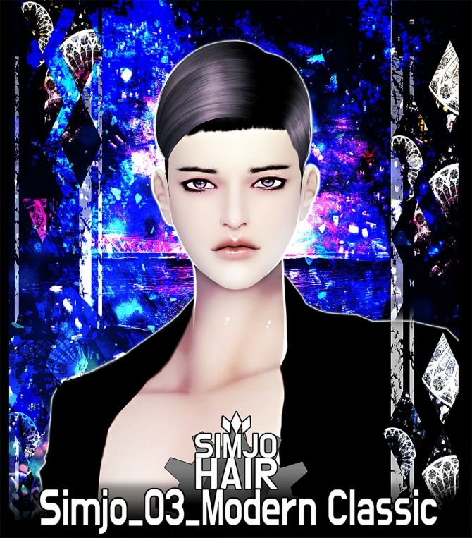 Sims 4 Hair 03 Modern Classic at Kim Simjo