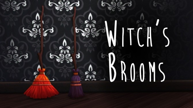 Sims 4 Witch's Brooms at Teanmoon