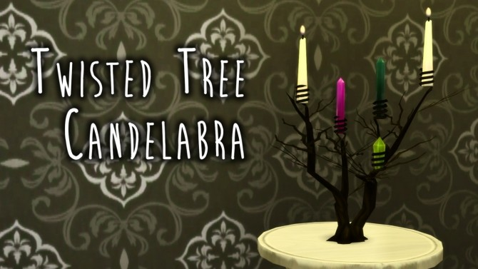 Twisted Tree Candelabra at Teanmoon image 1691 670x377 Sims 4 Updates
