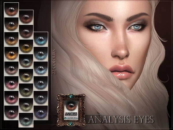Sims 4 Analysis Eyes by RemusSirion at TSR