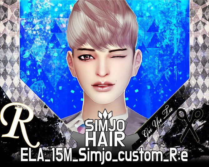 ELA(May) 15M custom hair edit at Kim Simjo image 1743 670x536 Sims 4 Updates