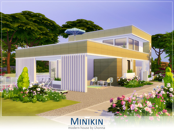 Minikin modern cabin by Lhonna at TSR image 1748 Sims 4 Updates
