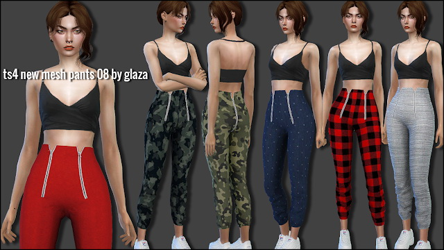 Sims 4 Pants 08 at All by Glaza