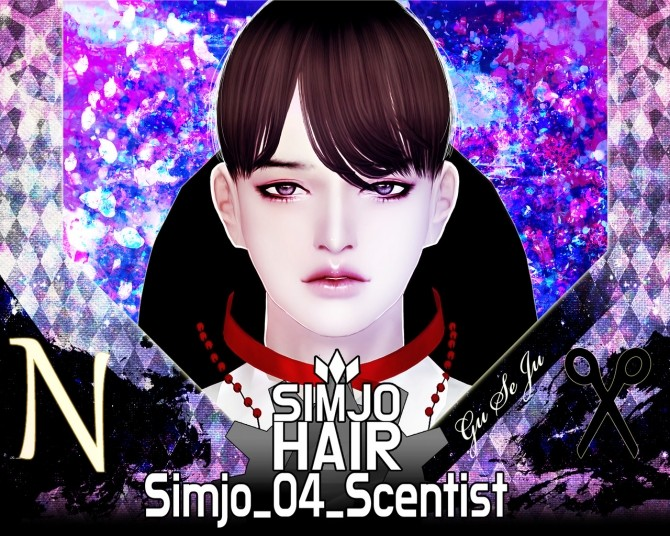 Hair 04 Scentist at Kim Simjo image 1773 670x536 Sims 4 Updates