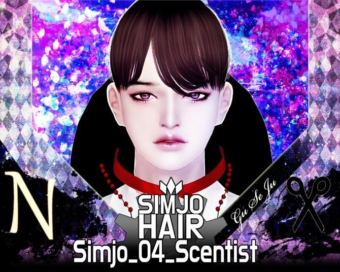 Sims 4 Hair 04 Scentist at Kim Simjo