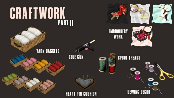 Sims 4 Craftwork Part II (P) at Leo Sims