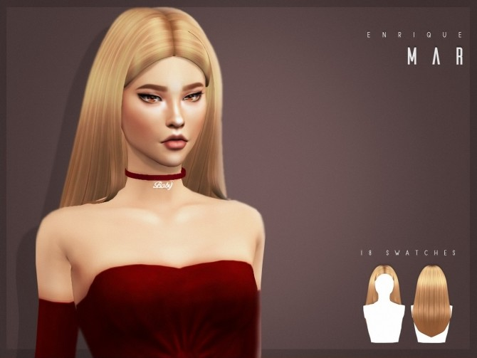 Mar Hairstyle at Enriques4 image 1843 670x503 Sims 4 Updates