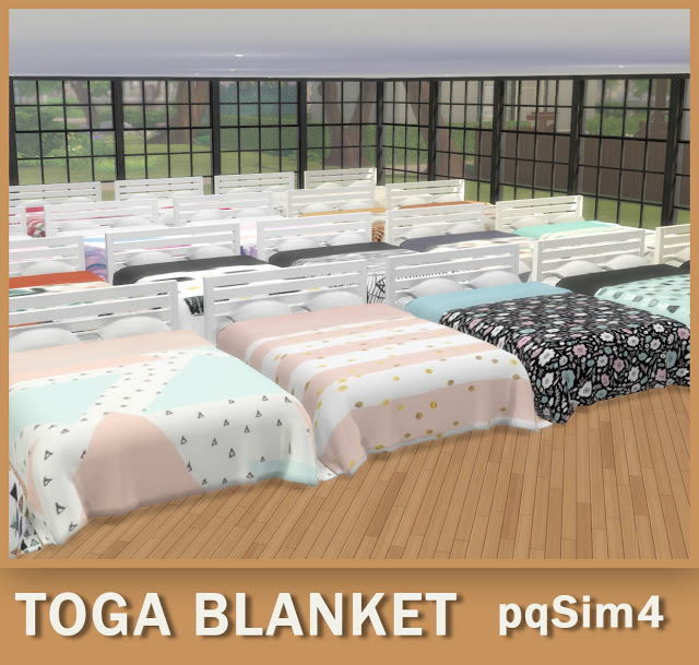 Sims 4 Toga Blanket at pqSims4