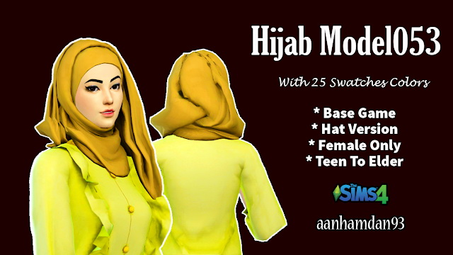 Hijab Model053 & Laguna Collections at Aan Hamdan Simmer93 image 1866 Sims 4 Updates