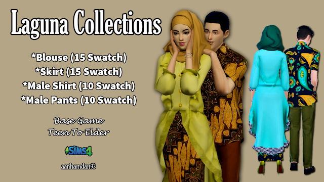 Hijab Model053 & Laguna Collections at Aan Hamdan Simmer93 image 1876 Sims 4 Updates