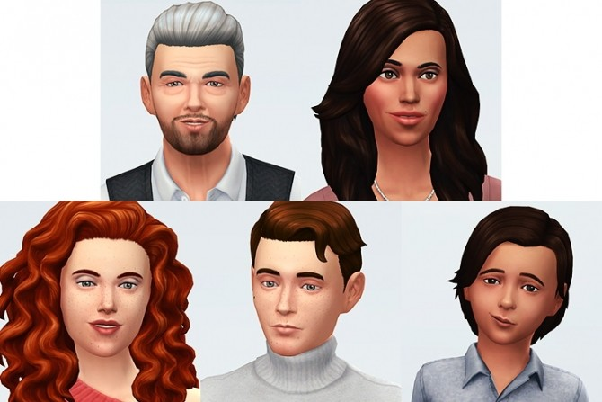 Sims 4 Families at Simsontherope