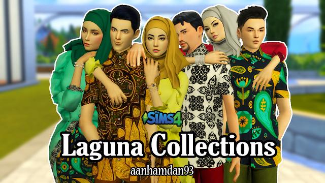 Sims 4 Hijab Model053 & Laguna Collections at Aan Hamdan Simmer93