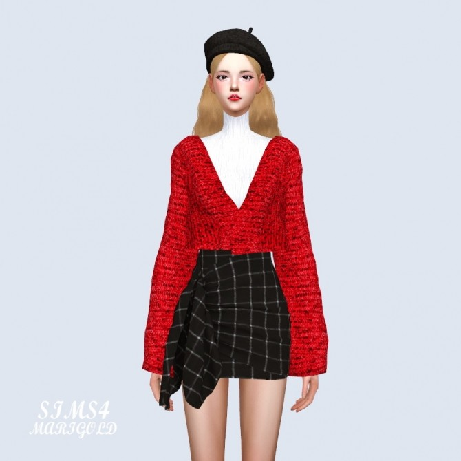 Crop Cardigan at Marigold image 1892 670x670 Sims 4 Updates